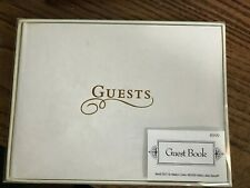 Guest Book - White with gold lettering - Hobby Lobby #250118 - NEW