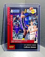 Lebron James 2019-20 Panini NBA Playoffs Instant #228 Basketball Card 1 of 313