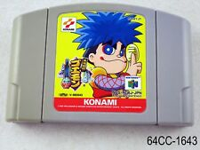 Ganbare Goemon Derodero Douchuu Great Adventure Japan Import Nintendo 64 N64 C