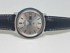 USED VINTAGE MOVADO TEMPEST-MATIC SILVER DIAL DAYDATE AUTO MAN'S WATCH
