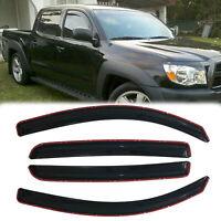 JDM Vent Visors 4pcs For Toyota Tacoma 00 01 02 03 04 Crew Cab 4-Door