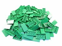 LEGO Green Tile 2x4 Lot of 50 Parts Pieces 87079