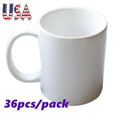 Usa 36pcscarton A Grade 11oz 3d Sublimation Blank White Heat Press Coated Mugs