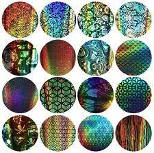16 Sheets Galaxy Nail Art Transfer Wrap Foil Sticker Tip Decal Decoration DIY US