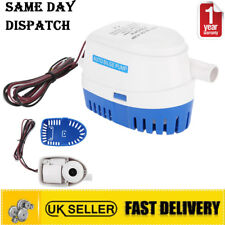 DC 12v Boat Automatic Submersible Auto Bilge Water Pump Float Switch