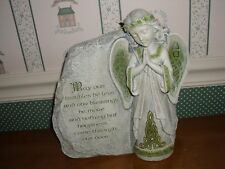 "Roman-Joseph'S Studio-9"" H Celtic Garden Stone- Irish Angel-New"