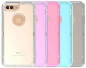 Wholesale Lot For Apple iPhone 8 Clear Case(Clip Holster Fits Otterbox Defender)