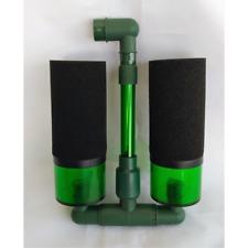 Luftheber Bio-Schwammfilter mit zusätzlichen Filterkammern bis 60cm Aquarium