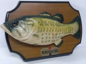 VTG Big Mouth Billy Bass Fish Sings Take Me to River Don't Worry Be Happy Works
