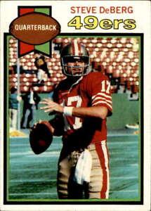 1979 Topps #77 Steve DeBerg RC Rookie NM San Francisco 49ers Football Card