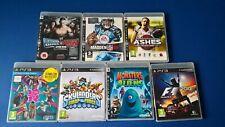 Varios PS3 Playstation 3 juegos PAL,