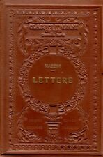 LETTERE D'AMORE G. MAZZINI G.GASPERONI G.BALSAMO CRIVELLI 1927 UTET (A750)