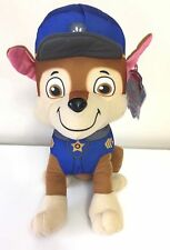 New Paw Patrol CHASE 9'' Stuffed Animal Toy.USA.Licensed Plush.