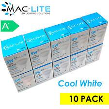 MAC-LITE GU10 Energy Saving 5W LED Light Bulbs - Cool White