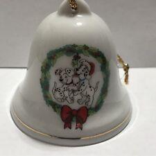 Disney Christmas Bell Ornament Grolier Collectibles 101 Dalmatians 017