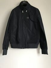 NWT G-STAR RAW DENIM MASS BOMBER MAZARINE BLUE POLYESTER JACKET SIZE L