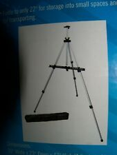 Lightweight Adjustable Aluminum Tripod Field Office Easel with Nylon Bag new