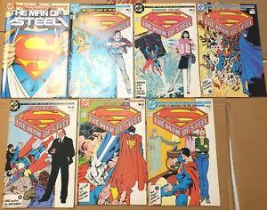 SUPERMAN THE MAN OF STEEL 1 2 3 4 5 6 COMICS JOHN BYRNE BATMAN CLASSIC BIZARRO