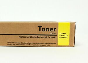 Yellow Replacement Toner for Ricoh MP C3500/C4500