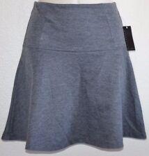 New CUTE! ATTENTION Gray Tulip Ruffle Stretch Short Skirt juniors size XS