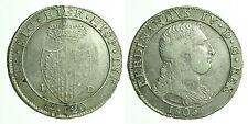 pci0305) Napoli regno Ferdinando IV grana 120 piastra 1805