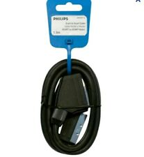 Philips Swv2540t/10 Cable Audio Vidéo Péritel Male/péritel Male Blindé 1 5m