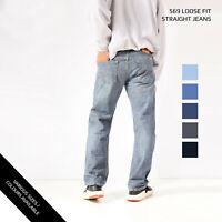 LEVIS 569 LOOSE STRAIGHT LEG JEANS DENIM GRADE A W30 W32 W34 W36 W38 W40