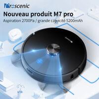 Proscenic M7 Pro Laser robot aspirateur laveur Alexa Poils d'Animaux nettoyeur
