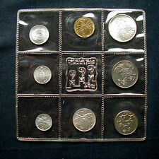 1974 San Marino (Italy) complete official set coins with silver UNC animals