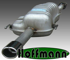 Vauxhall Astra Mk4 1.6 1.8 2.2 Coupe ('00-'04) Exhaust Rear Box - Chrome Tail