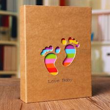 "6x4"" Baby Photo Album Holds 100 Photos Memory Photography Storage"