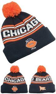 Chicago Bears New NFL Proline Knit Beanie Pom Youth Kids Blue Era Hat Cap