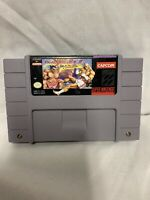 Super Nintendo SNES Street Fighter II 2 Turbo Authentic Cleaned Tested