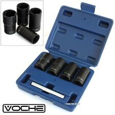 VOCHE® 4PC GRIP & TWIST SOCKETS LOCKING WHEEL NUT REMOVERS DAMAGED ROUNDED BOLTS
