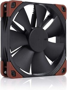 Noctua NF-F12 iPPC-2000, Heavy Duty Cooling Fan, 4-Pin, 2000 RPM (120mm, Black)