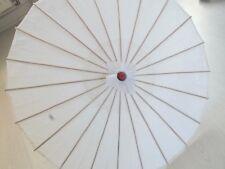 Exotique Blanc Style Antique Ombrelle Mariage Danse Chinois Diy Japonais Fête A3
