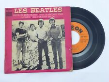 The Beatles Money 45 RPM EP Vinyl Record FRENCH FRANCE Odeon SOE 3777 VG+