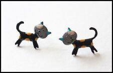 Boucles d oreilles BIJOUX LOL chat noir jaune Lolilota mode fun