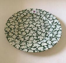 "Spode Ruskin House 12.5"" Buffet Plate (Oak Leaf. Green + White) - NEw"
