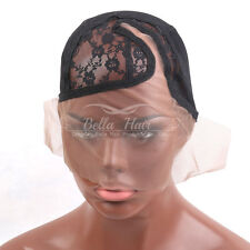Bella Hair C Top Glueless French Lace Wig Cap With Adjustable Straps Mesh Caps