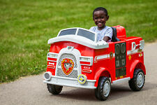 Fire Truck 6V Powered Ride On Toy Marshall Paw Patrol Rescue Battery Operated