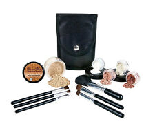 STARTER KIT w/BRUSH SET (WARM) Mineral Makeup Bare Skin Matte Foundation Cover