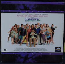 Greedy Michael J Fox Kirk Douglas Laserdisc LD (NTSC)