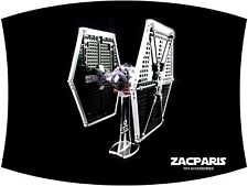 DISPLAY STAND for Star Wars Lego 9492 Imperial TIE Fighter - Clear acrylic Nice!