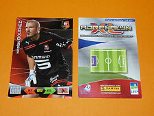 N. DOUCHEZ ROAZHON STADE RENNES FOOTBALL FOOT ADRENALYN CARD PANINI 2010-2011