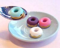 FD586 MP3 MP4 Phone Doughnut Cute Earphone Cable Winder Music Donut ~Random~ x1