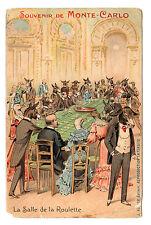 Souvenir De Monte Carlo - Art Postcard c1911 / Monoco