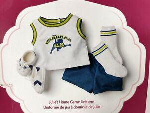 American Girl Julie's Home Game Uniform ~ Box Wear