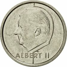 [#432831] Coin, Belgium, Albert II, Franc, 1996, Brussels, EF(40-45), Nickel