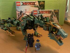 Lego Ninjago Movie Green Ninja Mech Dragon 544pcs (70612 )